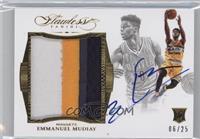 Emmanuel Mudiay /25