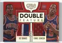 Joe Dumars, Vinnie Johnson /10