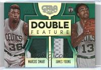 James Young, Marcus Smart /25