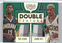 George Hill, Paul George /25