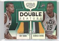 Derrick Favors, Trey Burke #/25