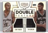 Tim Duncan, Tony Parker #/60