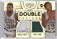 James Young, Marcus Smart /60