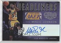 Magic Johnson #/8
