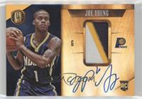 Rookie Jersey Autographs Prime - Joe Young #/25