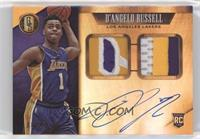 Rookie Jersey Autographs Prime Double - D'Angelo Russell #/25