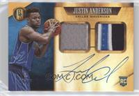 Rookie Jersey Autographs Prime Double - Justin Anderson #/25