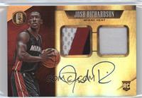 Rookie Jersey Autographs Prime Double - Josh Richardson #/25