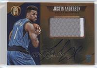Rookie Jersey Autographs Prime Jumbo - Justin Anderson #/25
