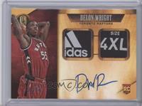 Rookie Jersey Autographs Prime Tag Double - Delon Wright /1 [NearMint]