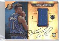 Rookie Jersey Autographs - Justin Anderson #/199