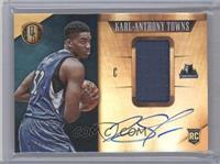 Rookie Jersey Autographs - Karl-Anthony Towns #/199
