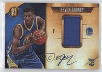 Rookie Jersey Autographs - Kevon Looney #/199