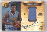 Rookie Jersey Autographs - Emmanuel Mudiay #/199