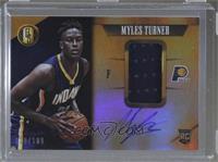 Rookie Jersey Autographs - Myles Turner /199