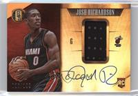 Rookie Jersey Autographs - Josh Richardson /199