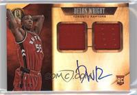 Rookie Jersey Autographs Double - Delon Wright #/149