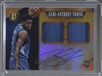 Rookie Jersey Autographs Double - Karl-Anthony Towns #/149