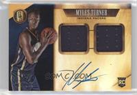 Rookie Jersey Autographs Double - Myles Turner #/149