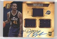 Rookie Jersey Autographs Triple - Trey Lyles #/99