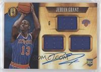 Rookie Jersey Autographs Triple - Jerian Grant #/99