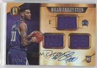 Rookie Jersey Autographs Triple - Willie Cauley-Stein #/99