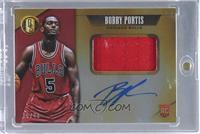 Rookie Jersey Autographs Jumbo - Bobby Portis #/49