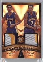 Anthony Brown, D'Angelo Russell /25