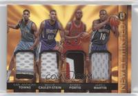 Bobby Portis, Karl-Anthony Towns, Jarell Martin, Willie Cauley-Stein #/25