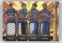 Cameron Payne, Josh Huestis, Karl-Anthony Towns, Tyus Jones #/25