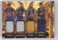Devin Booker, Karl-Anthony Towns, Trey Lyles, Willie Cauley-Stein #/25