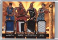 Bobby Portis, Justin Anderson, Rondae Hollis-Jefferson, Tyus Jones #/25