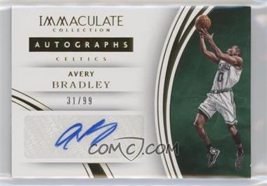 2015-16 Panini Immaculate Collection - Autographs #11 - Avery Bradley /99