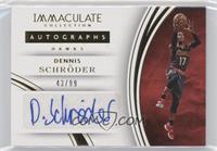 Dennis Schroder #/99
