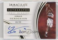 Gerald Henderson #/99