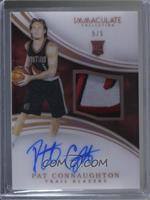 Rookie Patch Autographs - Pat Connaughton /5