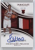 Rookie Patch Autographs - Cristiano Felicio /25