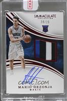 Rookie Patch Autographs - Mario Hezonja [Uncirculated] #/25