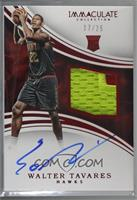 Rookie Patch Autographs - Walter Tavares [Noted] #/25