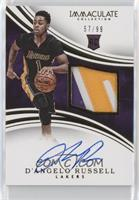 Rookie Patch Autographs - D'Angelo Russell /99