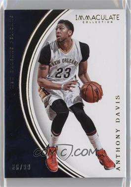 2015-16 Panini Immaculate Collection - [Base] #63 - Anthony Davis /99