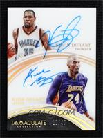 Kevin Durant, Kobe Bryant #/49