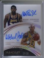 Kareem Abdul-Jabbar, Magic Johnson /25