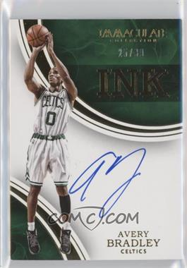2015-16 Panini Immaculate Collection - INK #IK-ABR - Avery Bradley /99