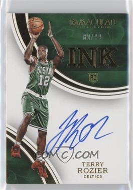2015-16 Panini Immaculate Collection - INK #IK-TRO - Terry Rozier /99