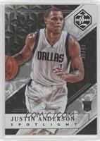 Justin Anderson #/49