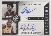 Josh Richardson, Justise Winslow /25