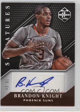 2015-16 Panini Limited - Limited Signatures #LS-BK - Brandon Knight /99