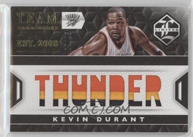 2015-16 Panini Limited - Team Trademarks - Prime #21 - Kevin Durant /25