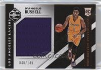 D'Angelo Russell #/149